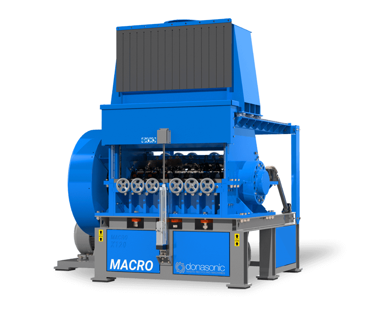 Macro Granulator - High Speed, Fine Shredding Macro Granulator