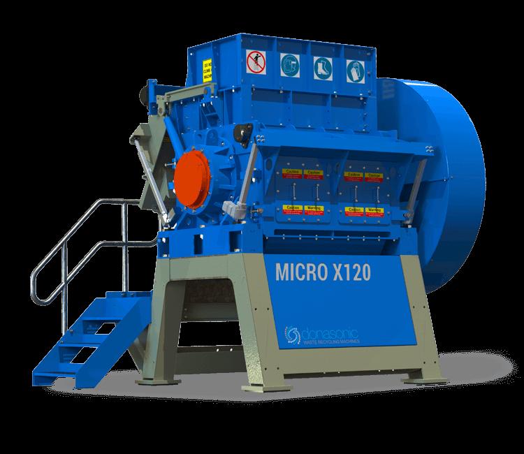 Micro Granulator - High Capacity, Fine Shredding Micro Granulator