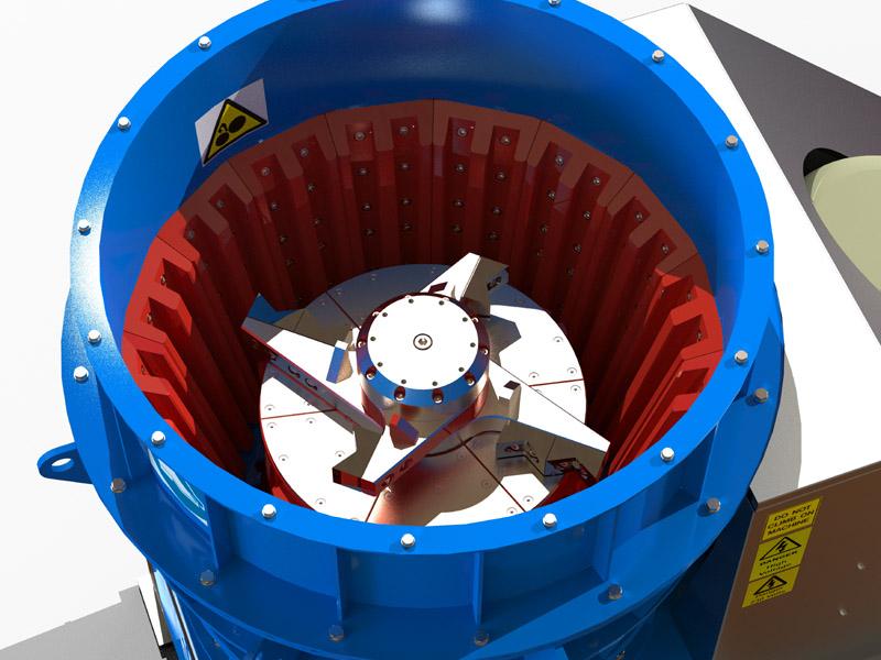 Hurricane Vertical Crusher / Crushing Machine Gallery Image