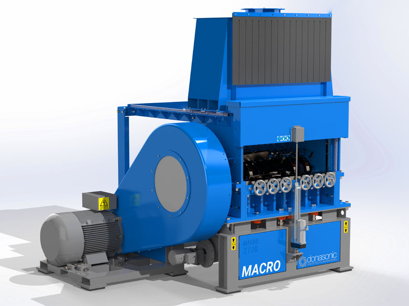 Macro Granulator / Fine Shredding Machine Gallery Image