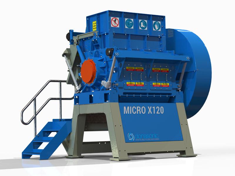 Micro Granulator / Fine Shredding Machine Gallery Image