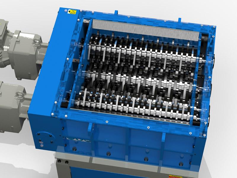 Quatro Four Shaft Shredding Machine Gallery Image