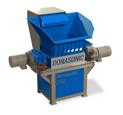Typhoon Twin Shaft Shredding Machine / Donasonic