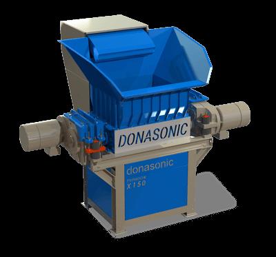 Typhoon Twin Shaft Shredder / Waste Materials Recycling Machine