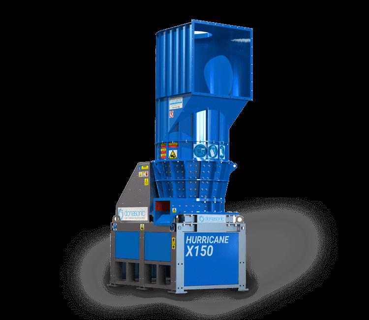 Hurricane Vertical Crusher - High Volume, Vertical Hybrid Mill
