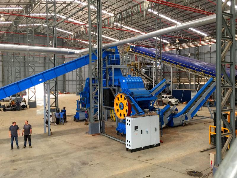 Donasonic - Waste Materials Recycling Machine Technology