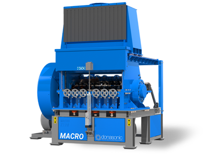 Macro Granulators - High Speed, Fine Shredding Macro Granulator