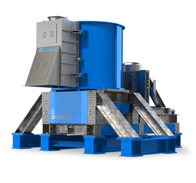 Crossflow Vertical Crusher / Waste Materials Recycling Machine