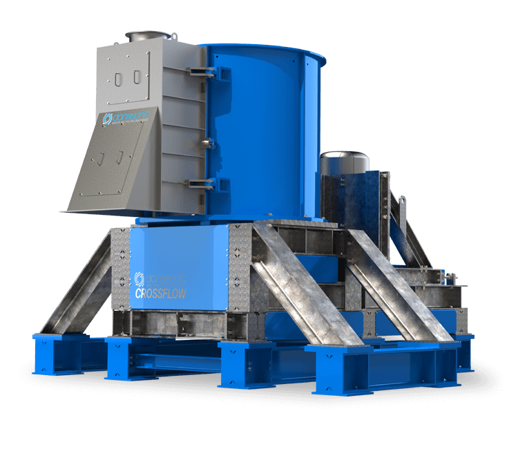 Crossflow Vertical Crusher / MULTI-USE HOMOGENISATION / CROSSFLOW VERTICAL CRUSHER MACHINE